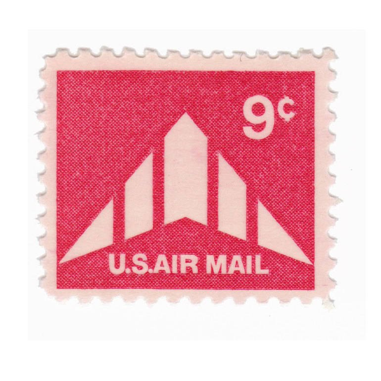 1971 9c Airmail Delta Wing