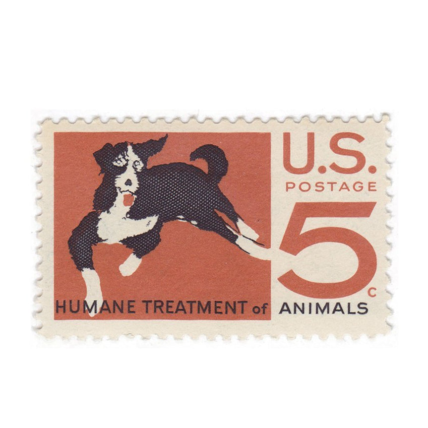 1966 5c Humane Treatment of Animals