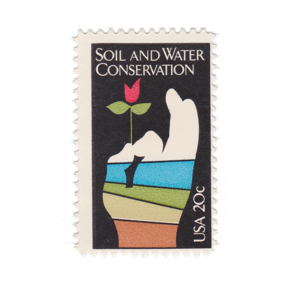 1984 20c Soil and Water Conservation