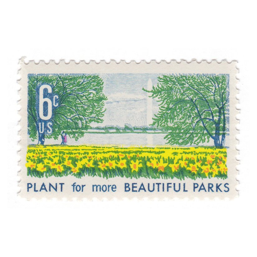 1969 6c Beautification of America Series - Buttercups