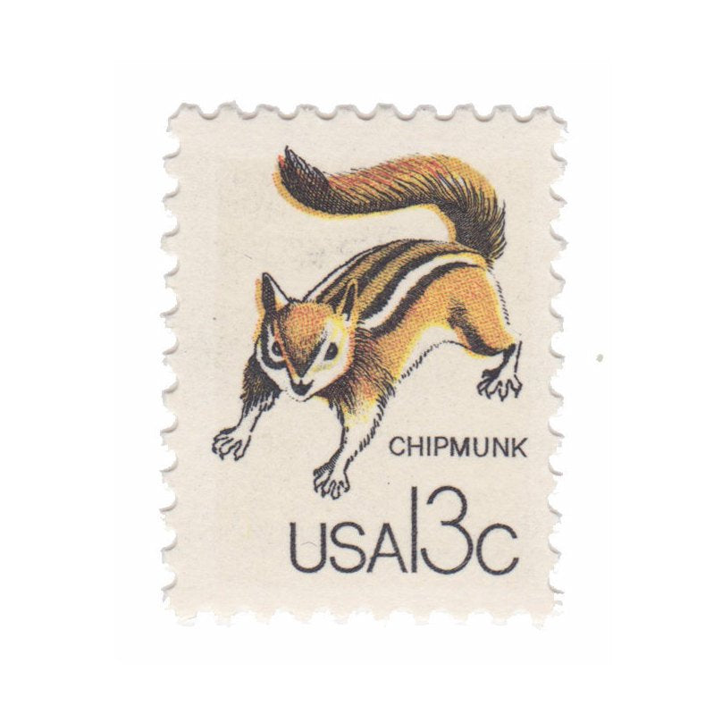 1978 Canadian Wildlife Series - 13c Chipmunk