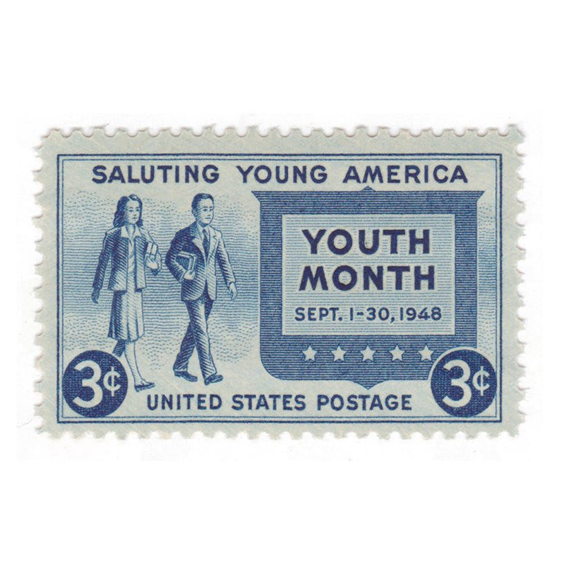 1948 3c Saluting Young America