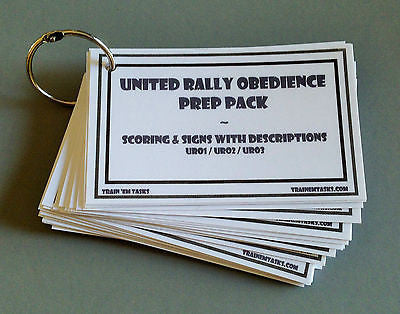UKC United Rally Obedience URO Prep Pack