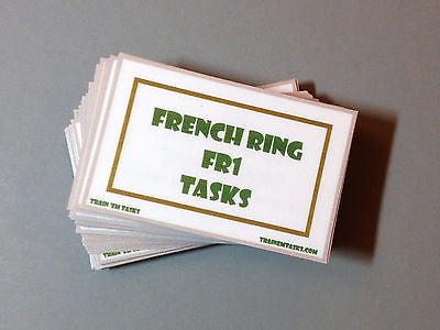 French Ringsport Level 1 Task Card Pack