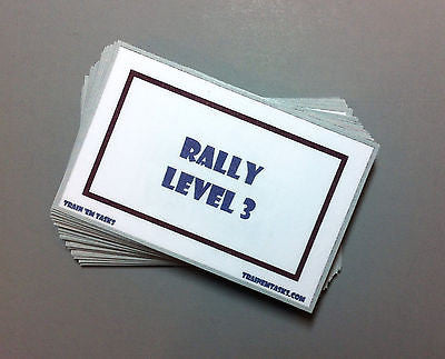 WCRL Level 3 Rally Task Card Pack