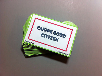 Canine Good Citizen Testing Task Pack