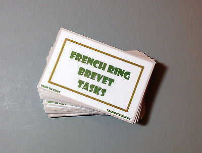 French Ringsport Bevet Level Task Pack