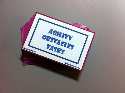 Dog Agility Obstacles Task Card Pack