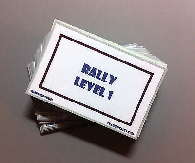 WCRL Level 1 Rally Task Card Pack