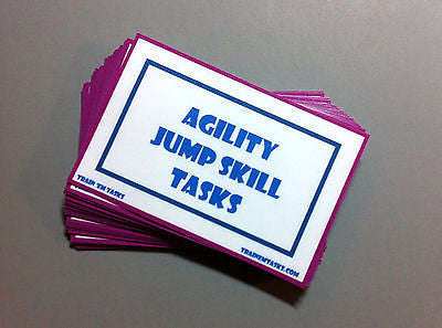 Dog Agility Jump Skills Task Card Pack
