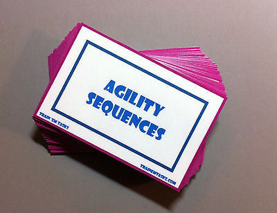 Dog Agility Sequences Task Card Pack