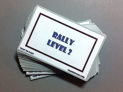 WCRL Level 2 Rally Task Card Pack