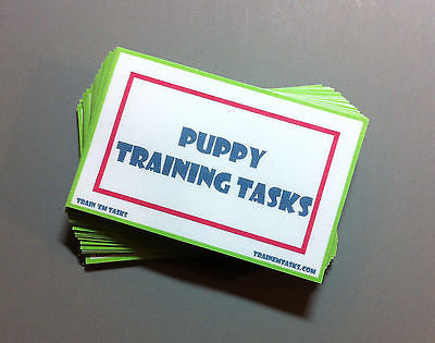 Puppy Manners Task Card Pack