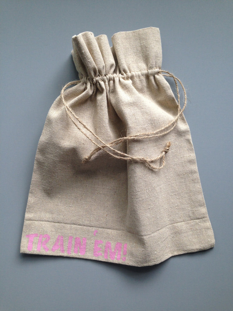 Large Pink Letter Task Grab Bag