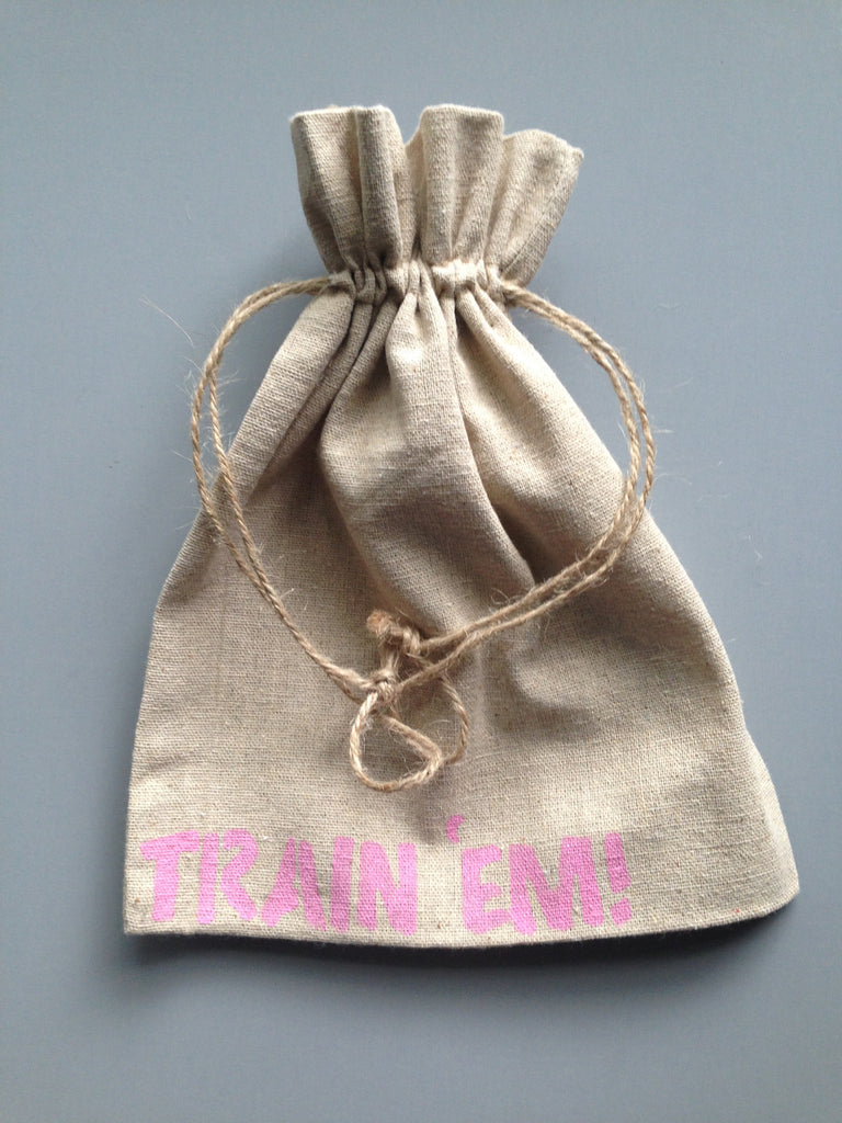 Small Pink Letter Task Grab Bag