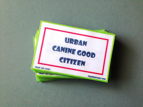 Urban Canine Good Citizen Testing Task Pack