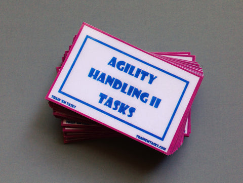 Dog Agility Handling II Task Card Pack