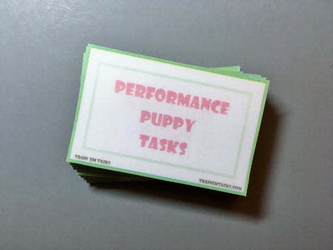 Performance Puppy Task Card Pack