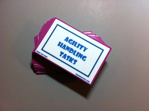 Dog Agility Handling Task Card Pack