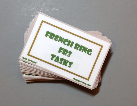 French Ringsport Level 3 Task Card Pack