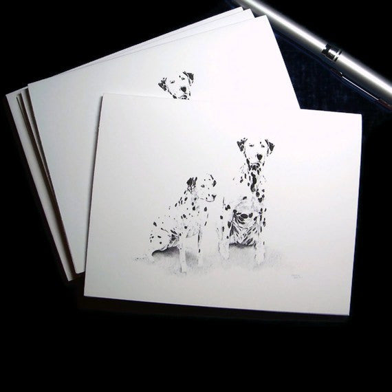 Dalmatian Blank Note Cards