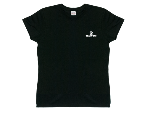 Ladies Dark Train 'Em T-shirt