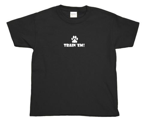 Kids Dark Train 'Em T-shirt