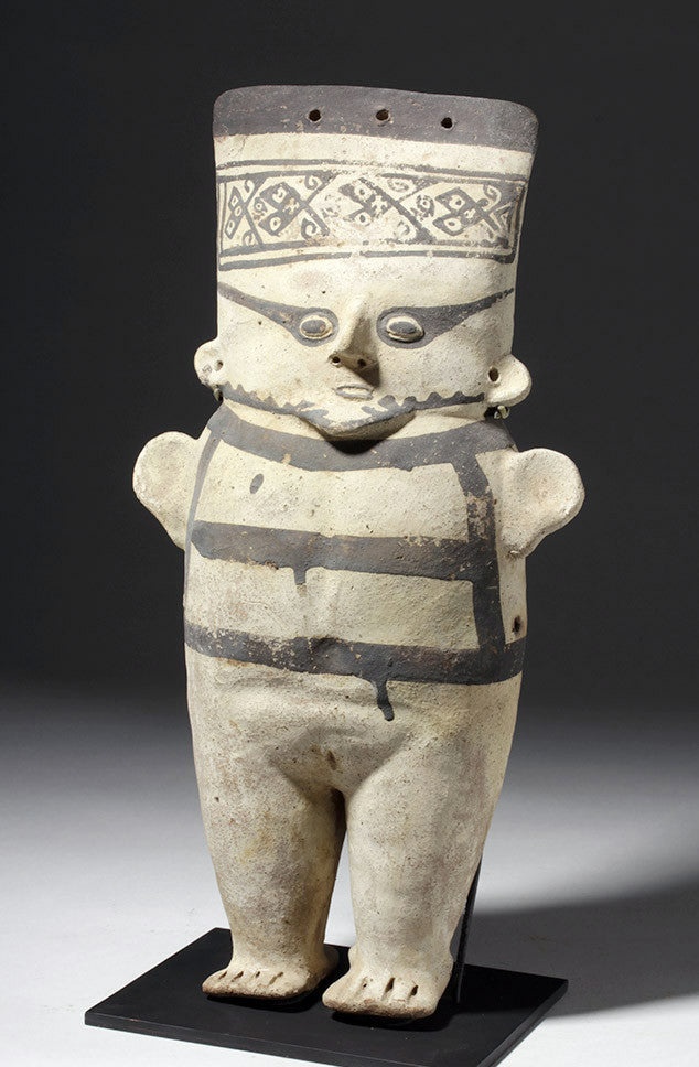 Chancay Pottery Standing Female China, Ca 1200-1450 CE, #1039