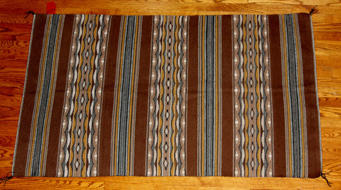 Navajo, Wide Ruins Textile/Rug/Weaving, by Phyllis Niwood, Ca 1978, #1045 Sold
