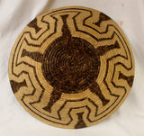 Native American Large Pima Basket Bowl, Ca 1950's #817