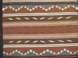 Native American Navajo Crystal Rug/Weaving by Marietta Begay, Ca. 1970s, #851