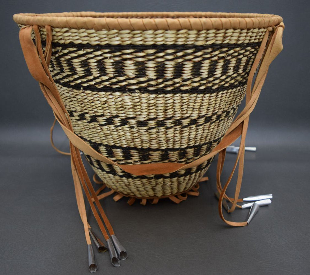 Native American Basket, Apache Burden Basket, Ca 1970's, #902 Sold