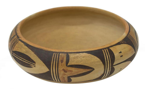 Native American, Historic Hopi Poly Chrome Pottery Bowl, by Elva Nampeyo, Ca 1950's-1960's, #1133