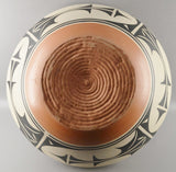 Native American, Giant Santo Domingo Dough Bowl, By Ambrose Atencio, , Ca 1980's, #1092