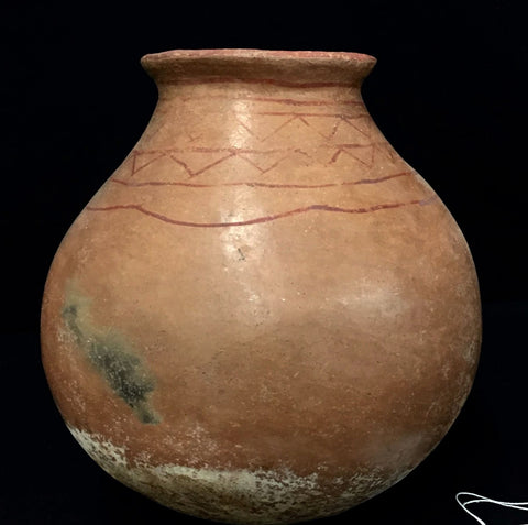 Native American Rare Historic Tohono O'odham Wine Pot, Ca early 1900's. #1139
