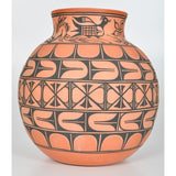 Native American Santo Domingo Pottery Olla, Thomas Tenorio #1192