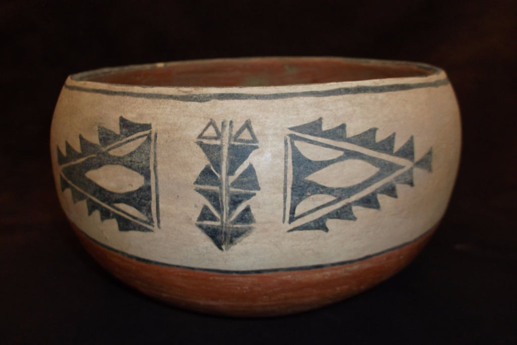 Native American, Vintage Cochiti Pottery Bowl, Ca. 1960's, #1203