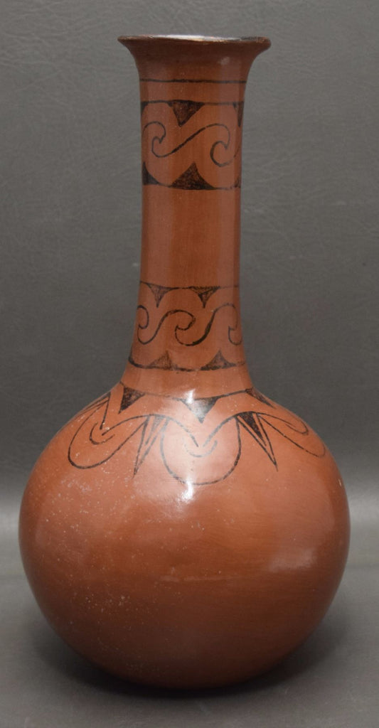 Native American, Exceptional Vintage Maricopa Pottery Vase, Ca 1960's, #1270
