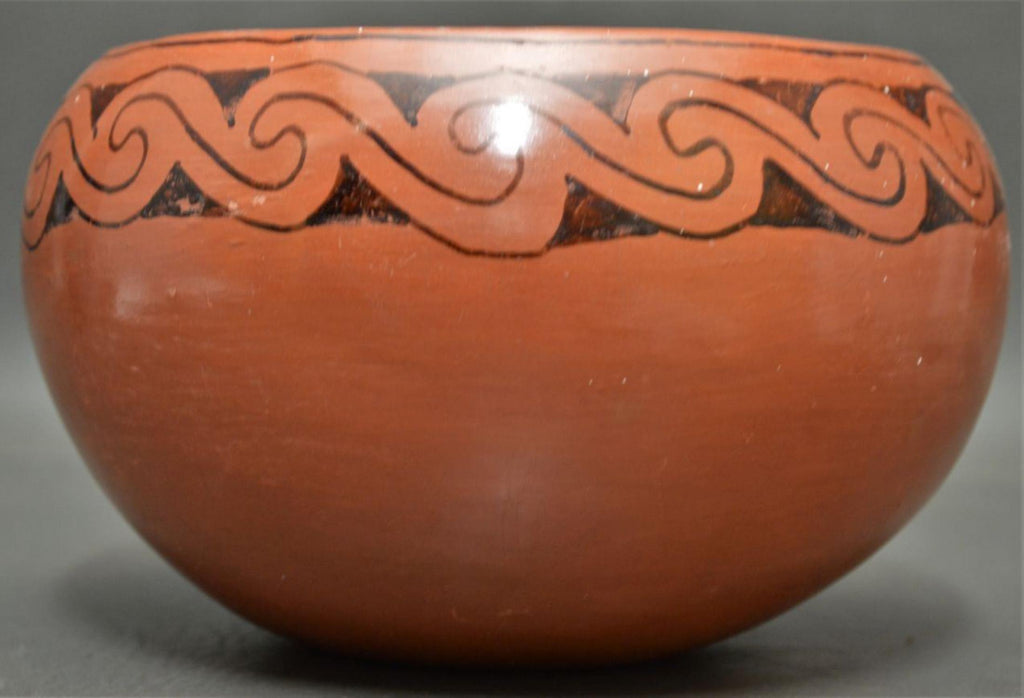 Native American Vintage Maricopa Pottery Bowl, Ca. 1950, #1431