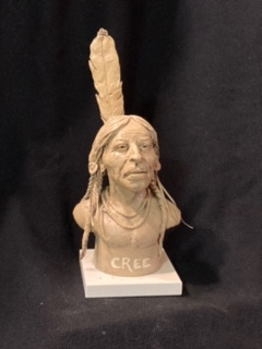 "James Regimbal's, ""Rare and Original Clay Models of Cree"", #C 1588"