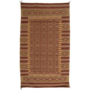 Native American, Navajo Chinle Weaving/Rug, third quarter 20th century, #983