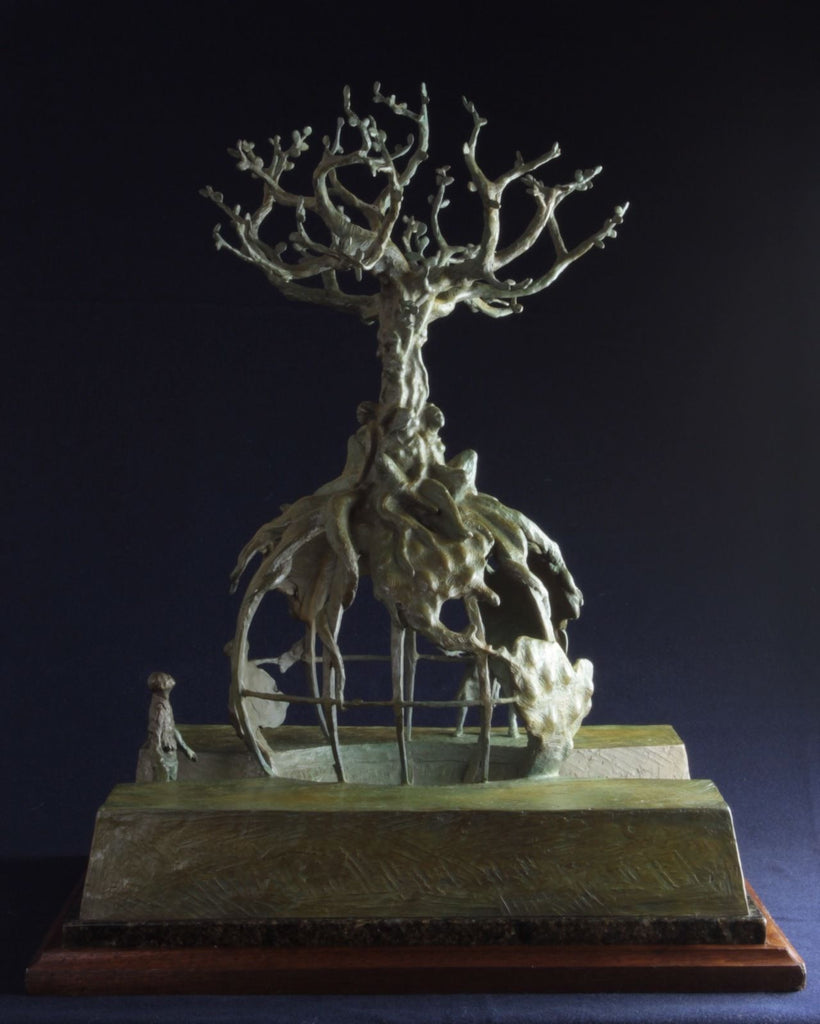 Bronze Sculpture Quot Global Tree Of Life Quot By Lincoln Fox
