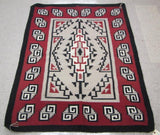 Native American, Navajo Weaving, Ganado Regional Design, Ca, 1980's #1072 Sold