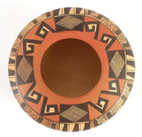 Native American Vintage Hopi Poly Chrome Pottery Bowl, by Fawn Garcia Navasie (1959), #1392