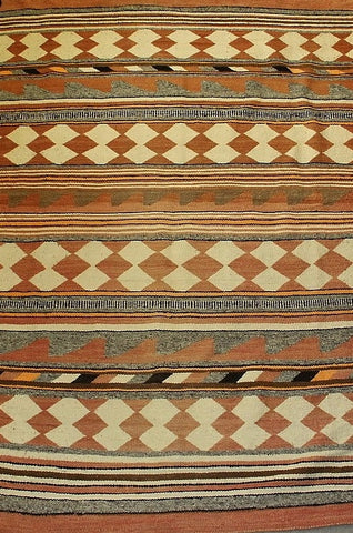 Historic Native American  Navajo Crystal Rug/Weaving, Ca 1920's, #809