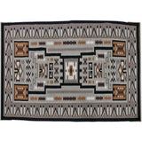 Native American Extraordinary Vintage Large Navajo Storm Pattern Rug, Ca. 1970's, #1449