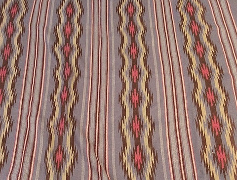 Native American, Vintage Navajo Wide Ruins Weaving, Ca 1970's # 1085