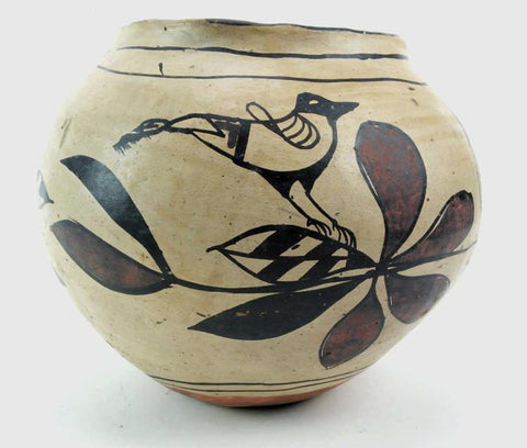 Native American, Historic Cochiti Pottery Olla, Ca 1920's, #1292