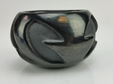 Native American, Santa Clara Pottery Bowl, By Frances Salazar (1936-2002), Ca 1970's, #1296