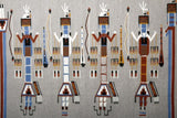 Native American Extremely Fine Navajo Yei Pictorial Weaving, Ca. 1950's, #1034-Sold